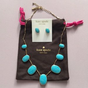 Stunning Kate Spade necklace and earring set